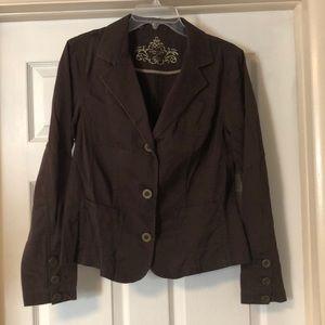 Sonoma Brown blazer/jacket